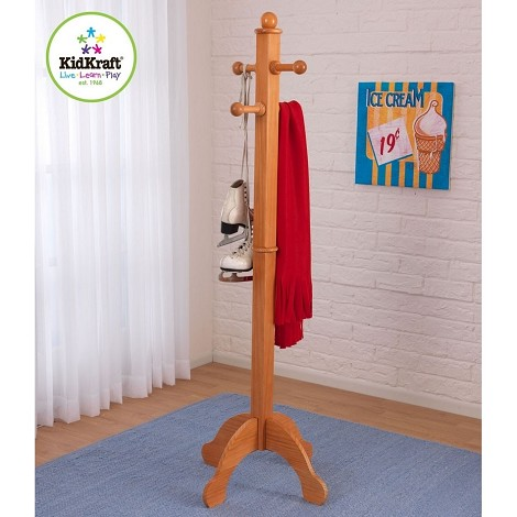 Deluxe Clothes Pole - Honey