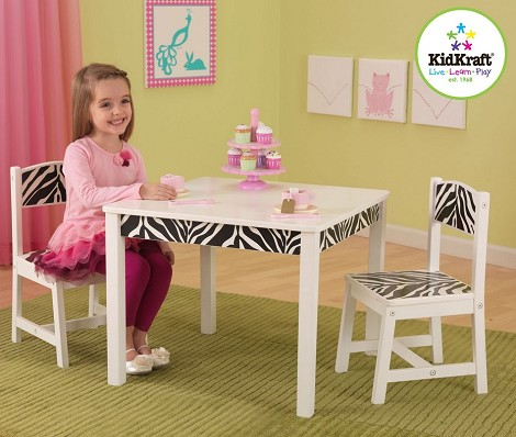 Funky Table & 2 Chair Set