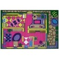 L.A Rugs Dollhouse Rug
