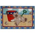 L.A Rugs Beach Bear Rug