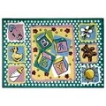 L.A Rugs Building Blocks Rug
