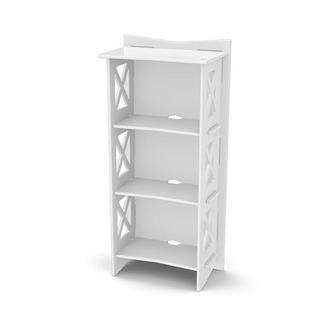 "Legare Furniture 48"" X 22"" Cottage Bookcase  Bcwm-116"