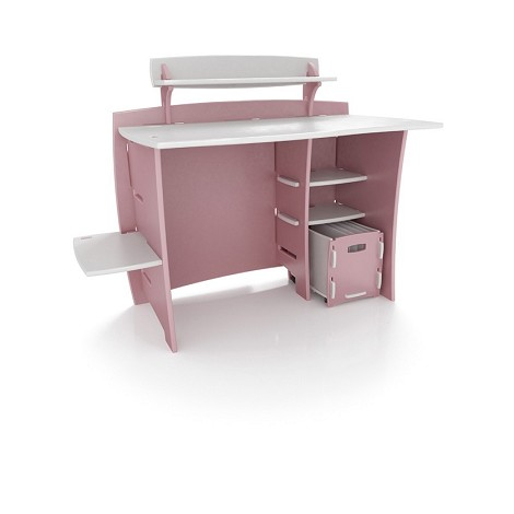 "Legare Furniture 43"" Desk + Pda Shelf + File Cart  Mpsm-210"