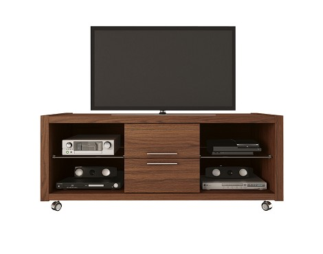 Manhattan Comfort Belvedere 2.0 TV Stand in Mocha/ Pro Touch