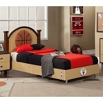 NBA Basketball Chicago Bulls Twin Bed