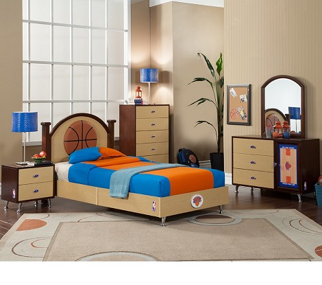 NBA Basketball New York Knicks Bedroom In A Box