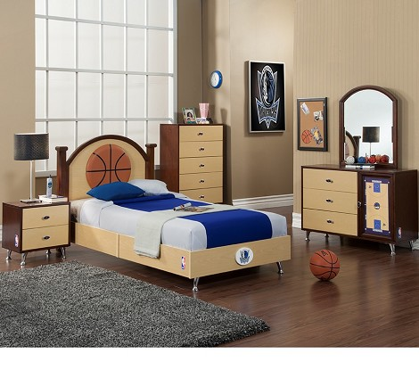 NBA Basketball Dallas Mavericks Bedroom In A Box