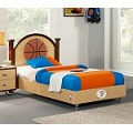 NBA Basketball Oklahoma Thunder Twin Bed