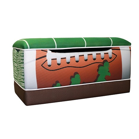 Football 50 Yard Line Toy Box