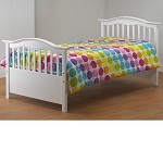 TB480-W Twin Bed White