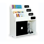 New Chalkboard BookShelf - White