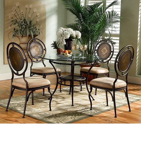 Basil 5PC Dining Table Set