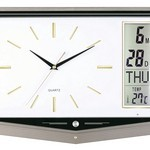 Lcd Calendar Clock With Temperature