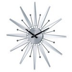 George Nelson Mirrored Starburst Clock