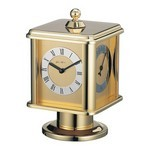Brass Carriage Clock Rotation Four Sides