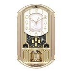 Gold Music Wall Clock Sensor,Vol.Control