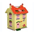 Teamson Kids Hand Carry Doll House - Magic Garden