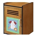 Teamson Kids Boys Small Cabinet - Lil' Sports Fan