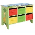 Teamson Kids Cubby Base Set - Sunny Safari
