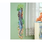 Teamson Kids Boys Wooden Growth Chart - Dinosaur Kingdom