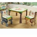 Teamson Kids Boys Table and 2 Chair Set - Dinosaur Kingdom