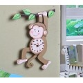 Teamson Kids Wall Clock - Sunny Safari