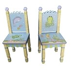 Teamson Kids Set of 2 Chairs - Under the Sea