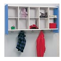 10-Cubbie Wall Storage (ASM)
