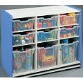Preschooler Combination Big Bin Storage (Assm) Blue