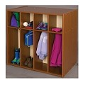8 Section Double Sided Toddler Locker