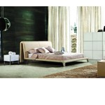 395 - Modern Eco-Leather Bed