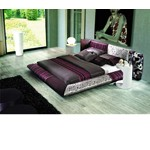 530 - Contemporary Eco-Leather Bed