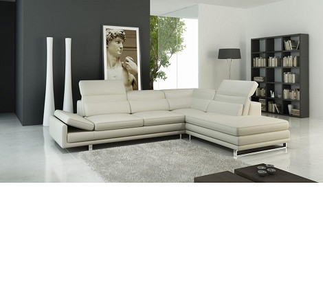 Dreamfurniture Com 958 Modern Italian Leather