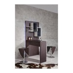 B514 - Modern Brown Bar Cabinet