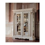 San Marco Dining Display Case White