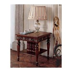 San Marco Dark Walnut End Table