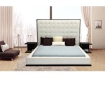 Beth - High Headboard Eco-Leather Bed