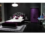 Blossom - Purple Luxury Bed