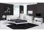 Bristol - Contemporary Glossy Bedroom Set