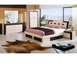 Concorde Modern Bed with Storage Set
