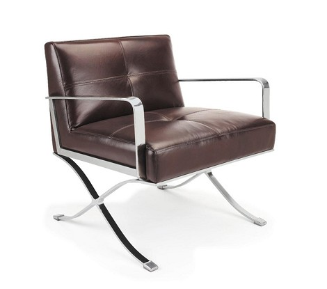 EC-011 - Modern Leather Lounge Chair