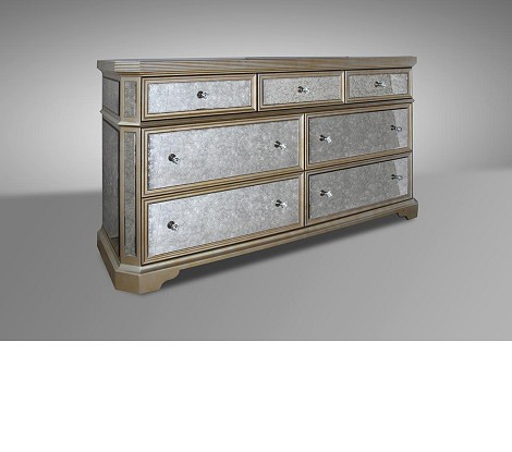 Evans - Transitional Mirror Dresser