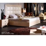 Glam Champaign - Armani Xavira Collection Bed - Model: AA216-180