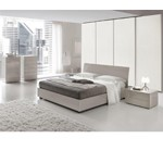 Karisma - Made in Italy Contemporary Grey Bed