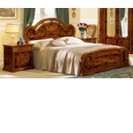 Milady Italian King Bed with 2 Nightstands