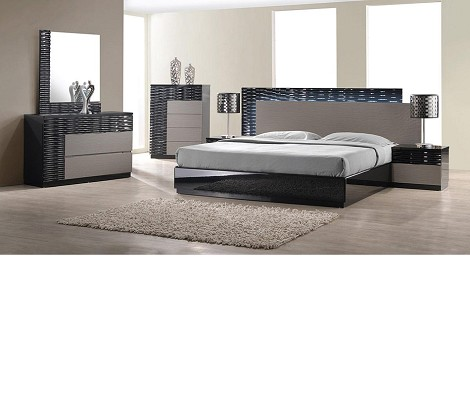 Onda - Modern Textured Bedroom Set