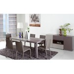 Puzzle - Modern Two-Tone Dining Table