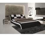 S613 - Contemporary Eco-Leather Bed