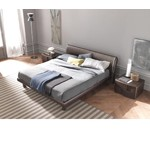 Trendy Wenge Bed - Made in Italy