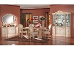 Rossella Traditional Dining Set Made in Italy